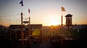 Выбор места для строительства Веревочного Парка в городе с населением в 500 000 человек