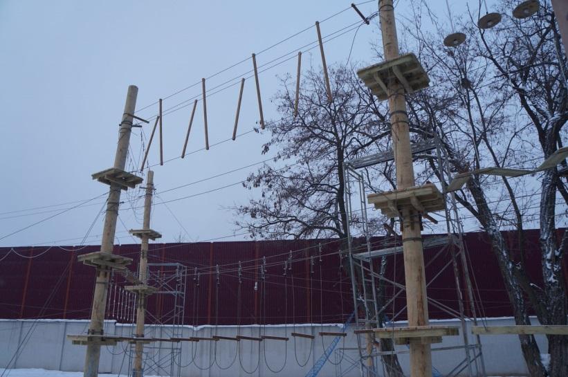 Строительство веревочного парка (5)