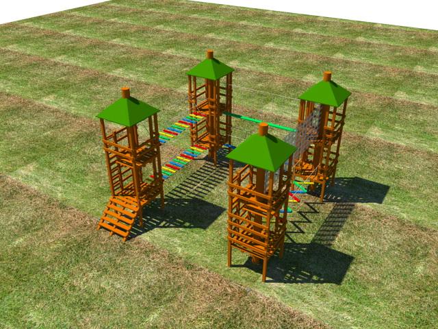 Строительство веревочного парка (7)