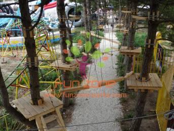 Аттракцион Веревочный Парк (Тайпарк, дополнение к Википедии)