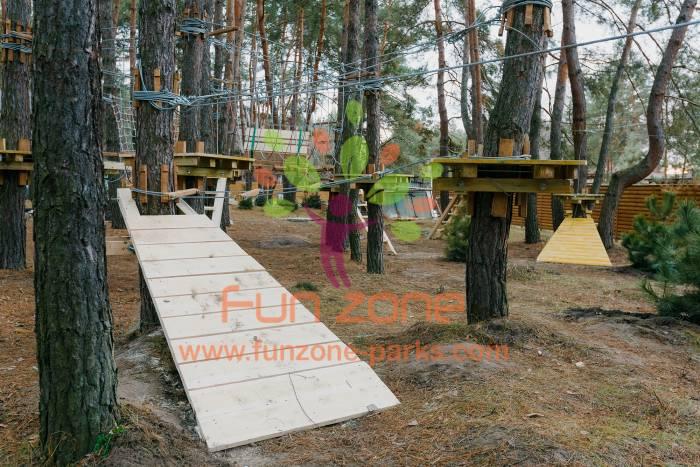 Веревочный парк для дома - купить, построить